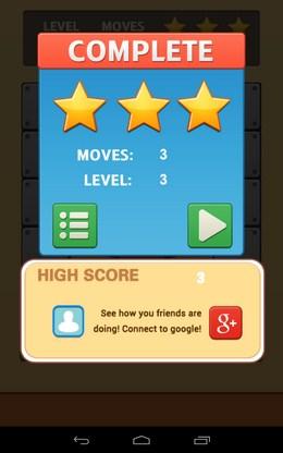 Итоги - Unroll Ball для Android