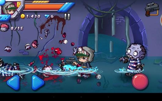 Зомби убит - Zombie Diary 2 для Android