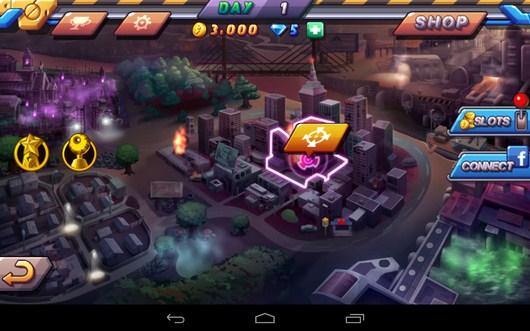 Город - Zombie Diary 2 для Android
