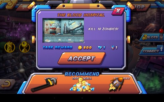 Миссия - Zombie Diary 2 для Android