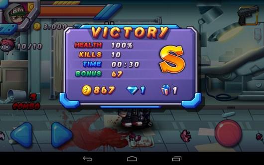 Победа - Zombie Diary 2 для Android