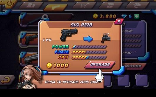 Апгрейд оружия - Zombie Diary 2 для Android