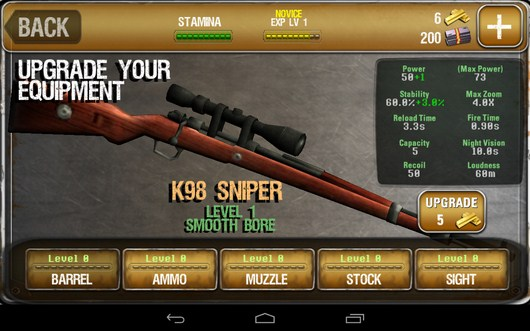 Магазин оружия - iHunt Z для Android
