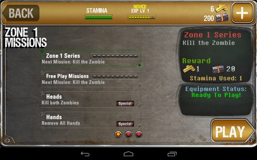 Миссии - iHunt Z для Android