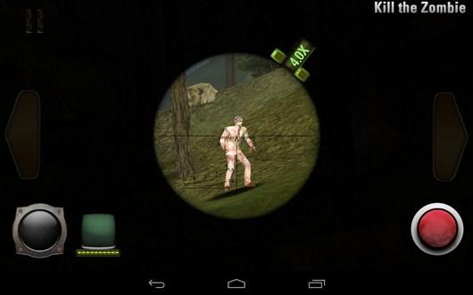 Прицеливание - iHunt Z для Android