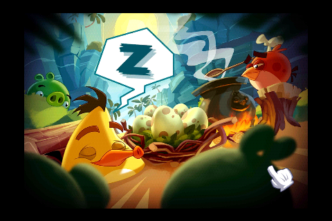 Angry Birds Epic Заставка