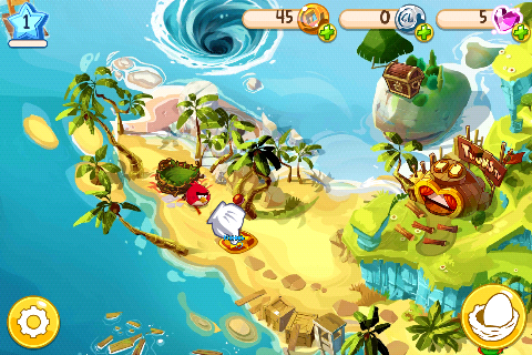 Angry Birds Epic Начало игры
