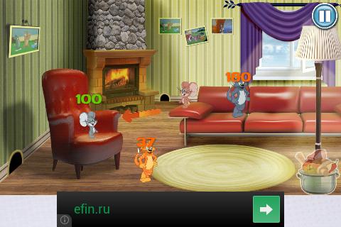 Коты против Мышей для Android - в гостинной