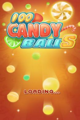 Начало игры 100 Candy Balls