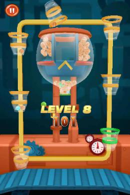 8й уровень 100 Candy Balls