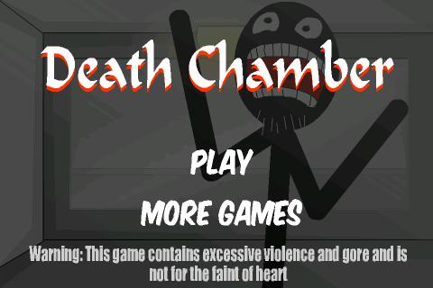Stickman Death Chamber Начало