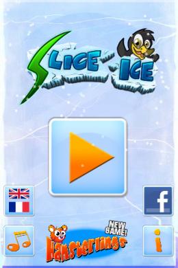 Slice Ice начало игры