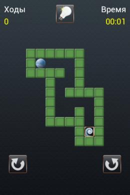 Уровень сложнее в игре Веселый блок