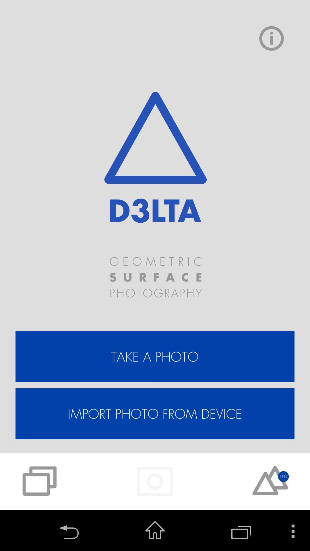 Меню - D3LTA для Android