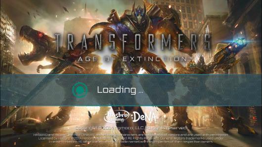 Загрузка игры TRANSFORMERS AGE OF EXTINCTION для Андроид