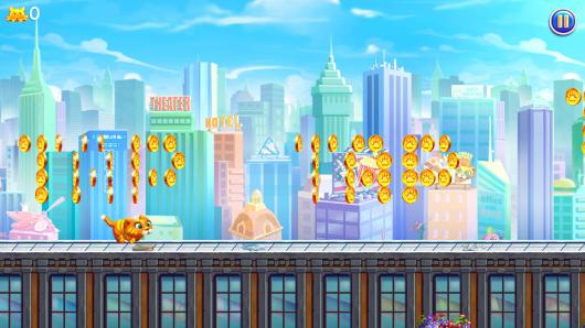 Проходим этап в игре Барсик: Побег из Нью-Йорка для Андроид