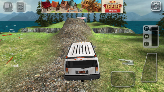 Игра 4x4 Off-Road Rally 2 для Android - на треке