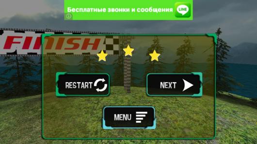 Игра для Андроид 4x4 Off-Road Rally 2 уровень закончен