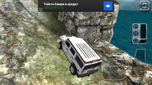 Игра 4x4 Off-Road Rally 2 для Андроид - даже горы победим