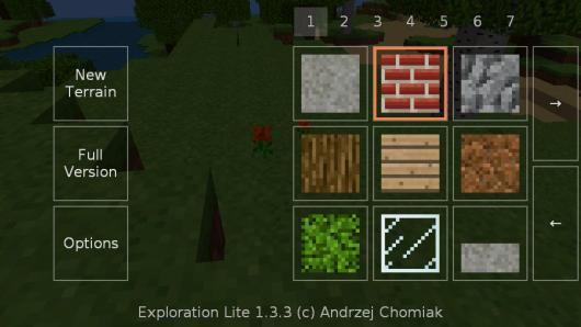 Стройте что хотите в игре Exploration Lite для Android