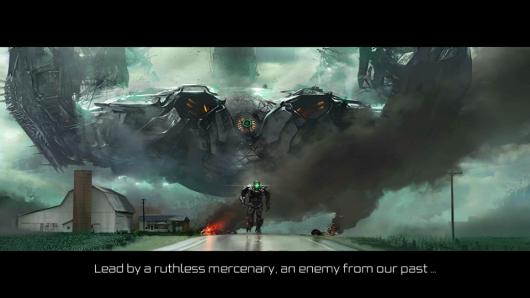 Сцена из игры TRANSFORMERS AGE OF EXTINCTION для Андроид