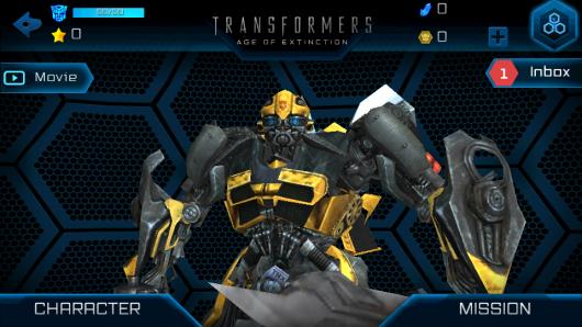 Выш герой в игре TRANSFORMERS AGE OF EXTINCTION для Андроид