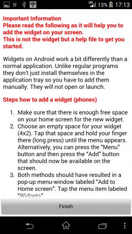 Инструкция - Sense Analog Clock бесплатно для Android