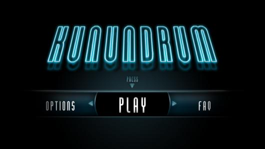 Стартовый экран игры Kunundrum
