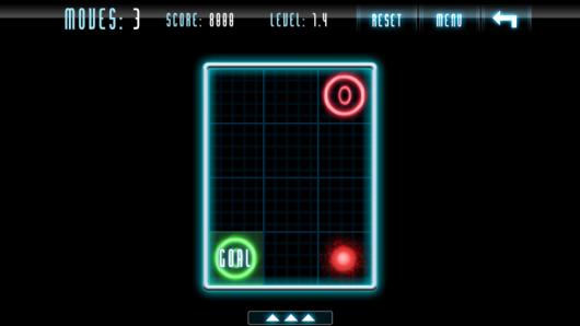 Две молнии на уровне в игре Kunundrum для Андроид