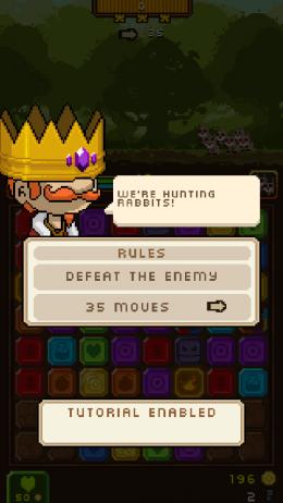 Уровень проигран в Horde of Heroes