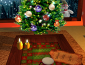 Елка - Christmas Fireplace LWP для Android