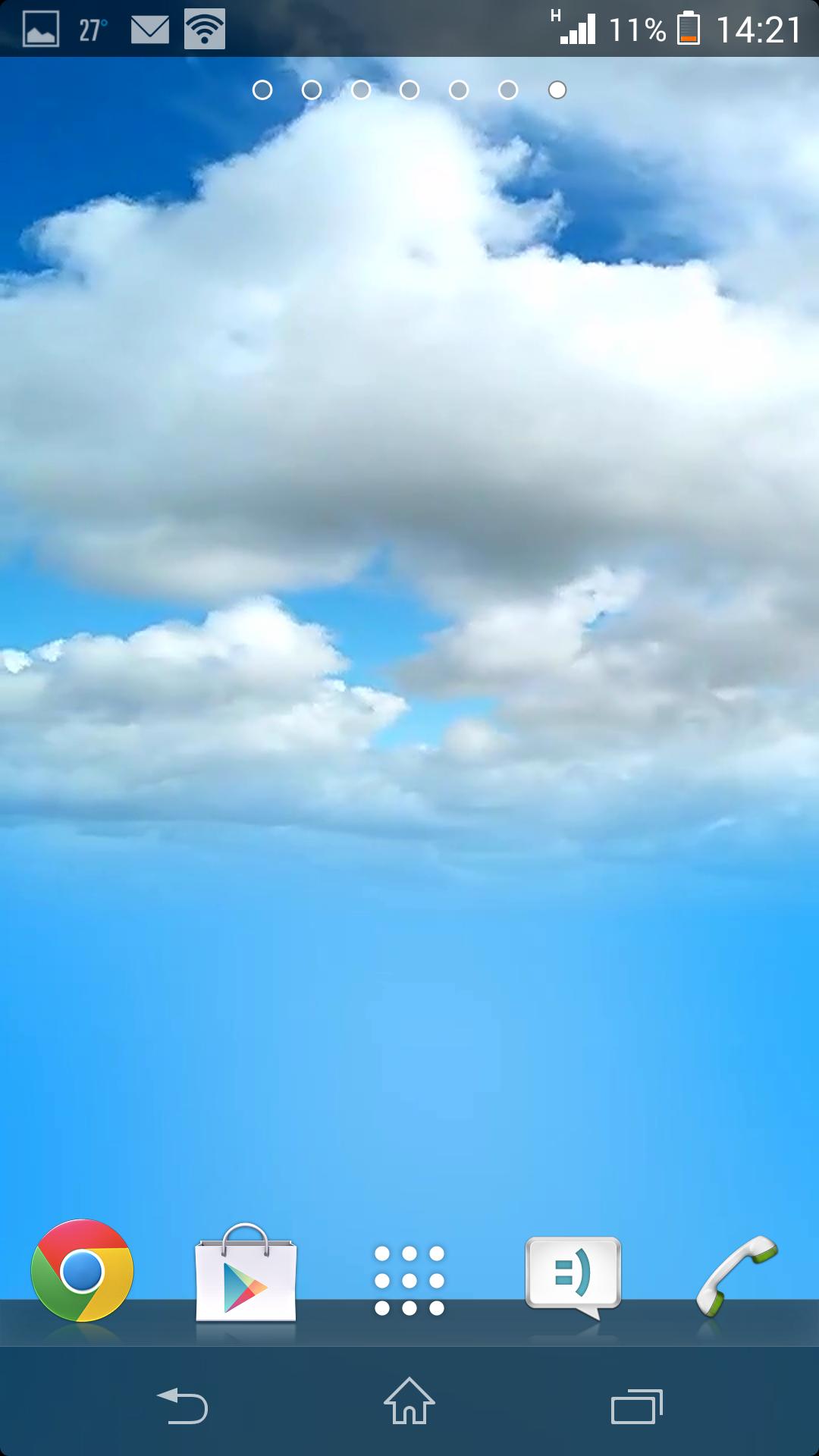 Облачность - Beautiful weather & LWP для Android