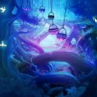 Elf Life Live Wallpaper — волшебный лес