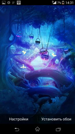 Мотыльки - Elf Life Live Wallpaper бесплатно для Android