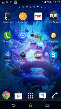 Обои - Elf Life Live Wallpaper бесплатно для Android