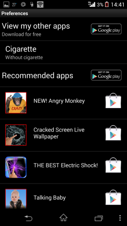 Параметры - Funny Monkey для Android