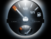 Индикаторы - Gasoline Live Wallpaper для Android