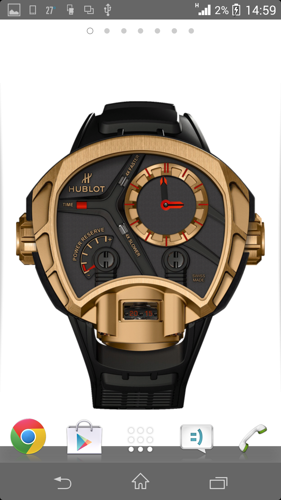 Часы - Hublot Masterpiece MP-02 бесплатно для Android
