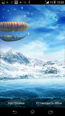 Зима - Beautiful Seasons Weather HD для Android