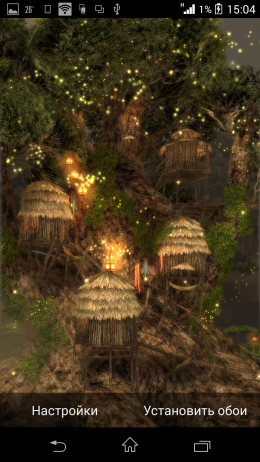 Дерево - Magic Tree 3D Live Wallpaper для Android