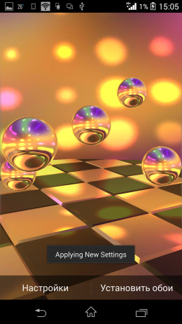 Превью - Reflections HD Live Wallpaper для Android
