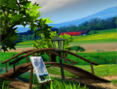 Мостик - Parallax Nature: Summer Day XL для Android