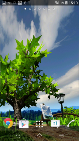Облака - Parallax Nature: Summer Day XL для Android