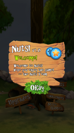 Начало игры Nuts! для Андроид