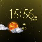 Weather Live Wallpaper — красивая погода