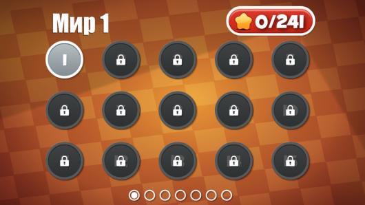 Выбор уровня в игре Help Me Fly для Android