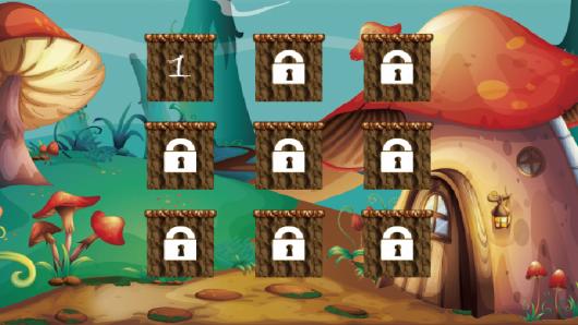 Выбор уровня игры Bunny Run для Андроид