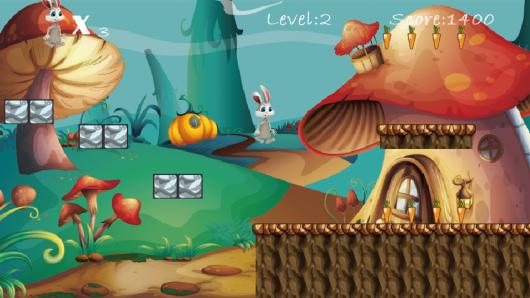 Прохождение игры Bunny Run