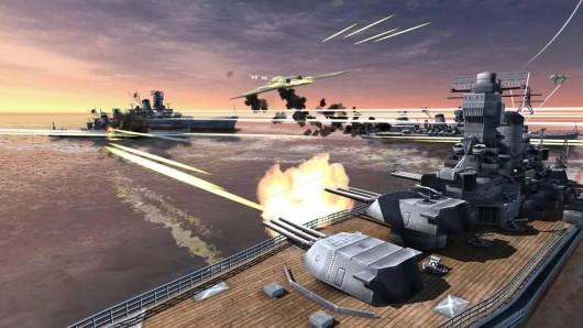 World Warships Combat для Android - война на воде и в воздухе