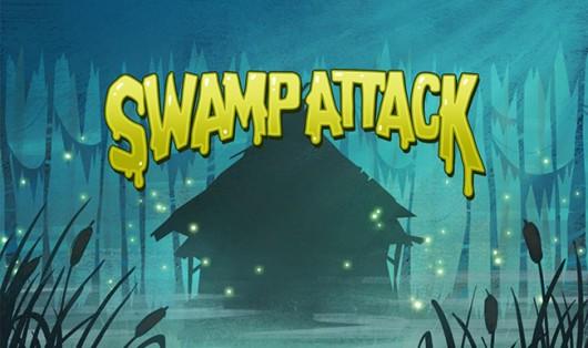Игра Swamp Attack - загрузочный экран
